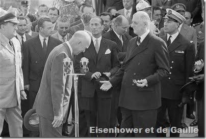 Eisenhower-deGaulle