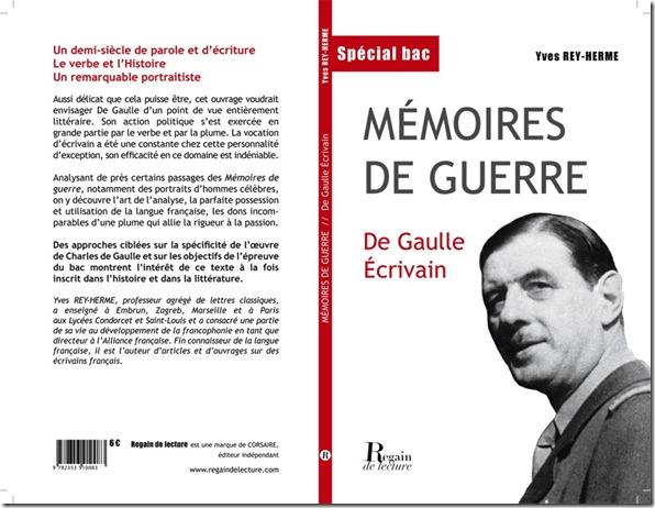 Couv De Gaulle écrivain