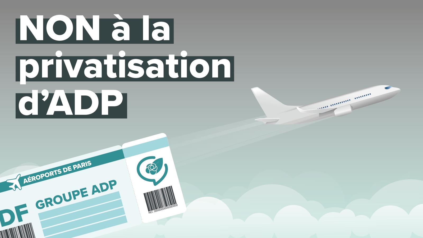 """Résultat de recherche d'images pour """"contre la privatisation d'adp rip"""""""